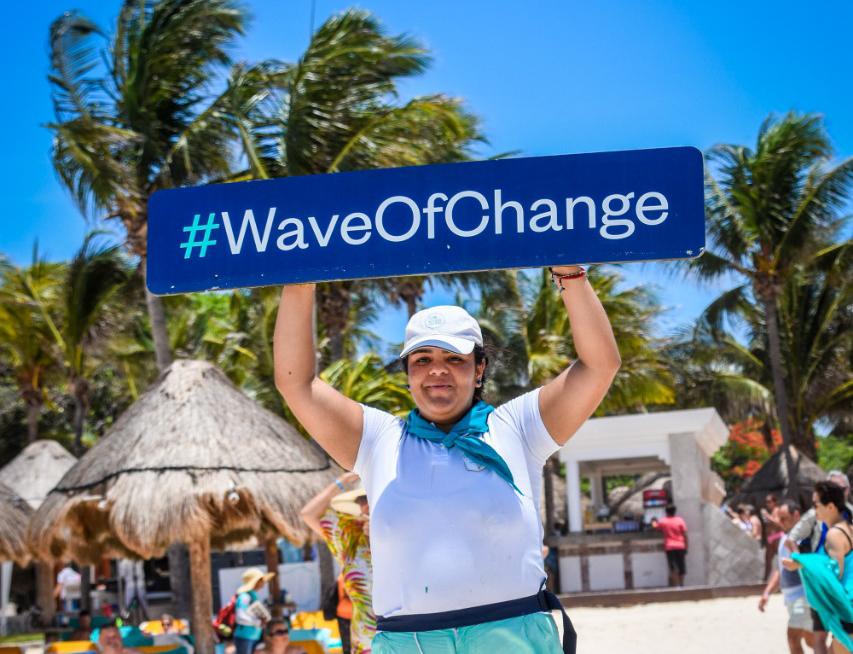 PARA EL 2023, EL 90% DE LOS CLIENTES ALOJADOS EN NUESTROS HOTELES RECONOCERÁN EL PROYECTO WAVE OF CHANGE