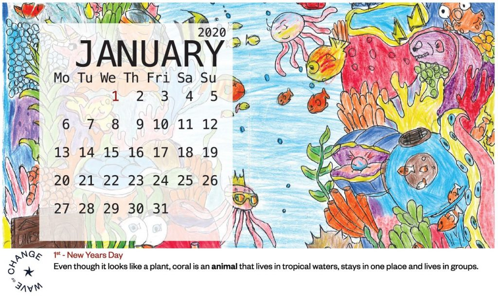 SECOND YEAR CALENDAR PROJECT